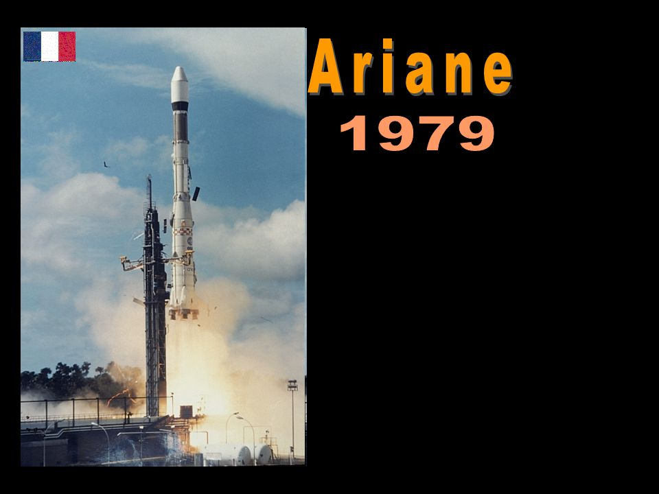 Ariane 1979. http://www.esa.int/SPECIALS/Launchers_Home/SEMN2E67ESD_0.html.