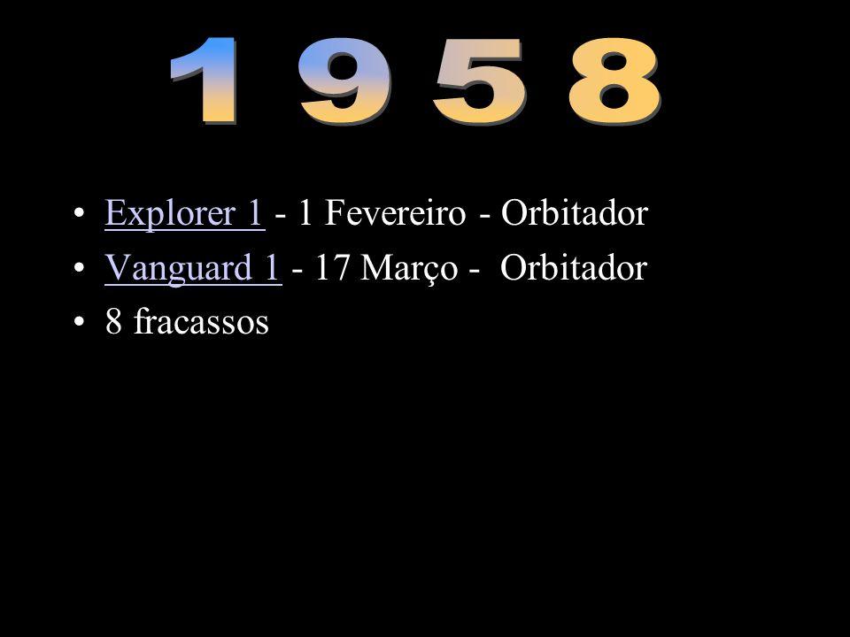 1958 Explorer 1 - 1 Fevereiro - Orbitador
