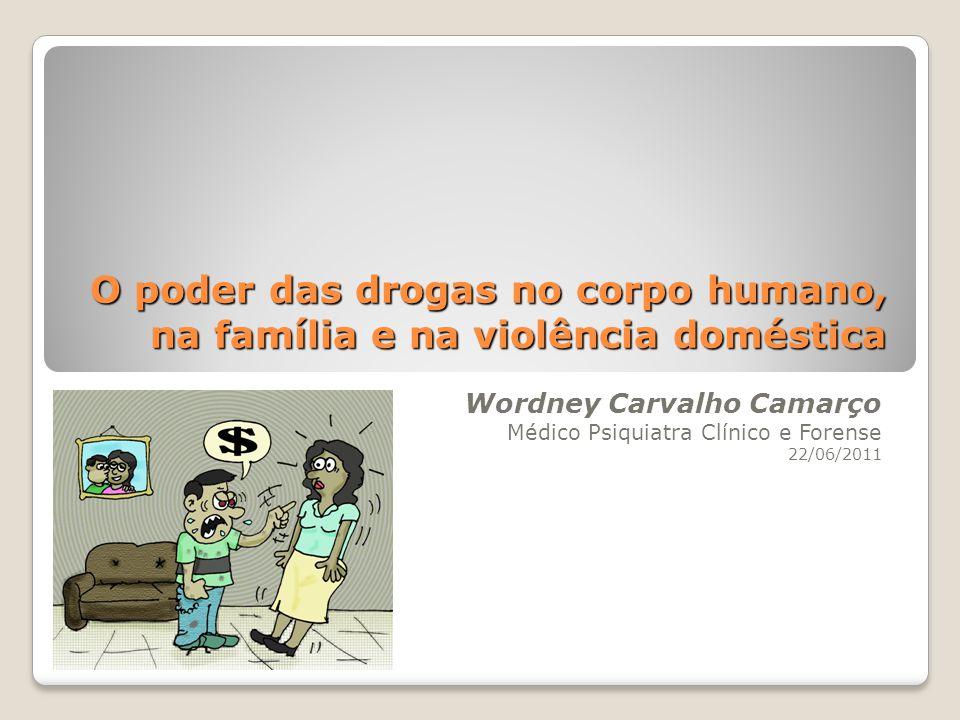 O poder das drogas no corpo humano, na família e na violência doméstica