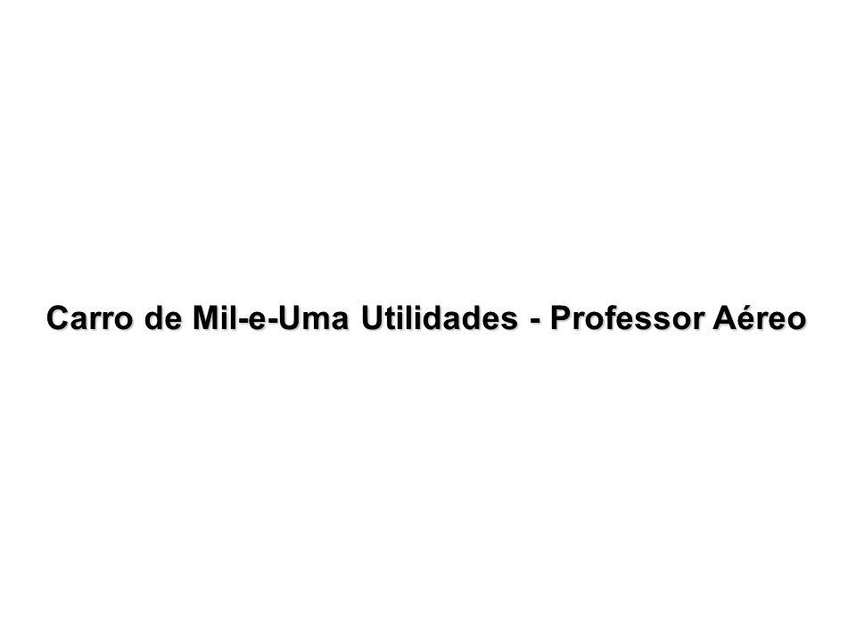 Carro de Mil-e-Uma Utilidades - Professor Aéreo