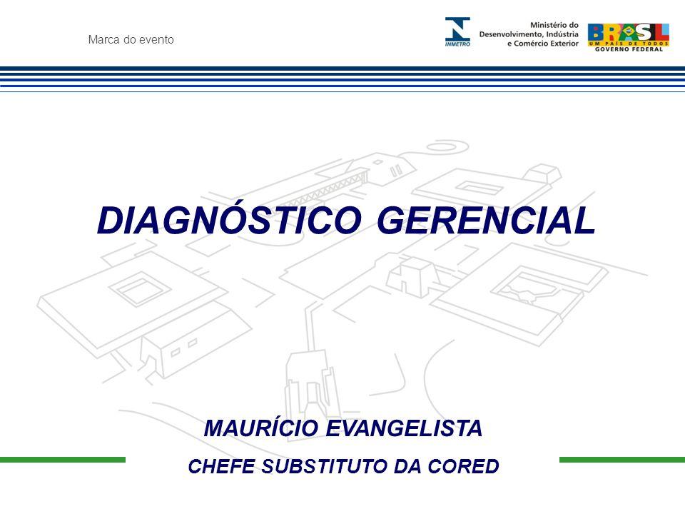 DIAGNÓSTICO GERENCIAL CHEFE SUBSTITUTO DA CORED