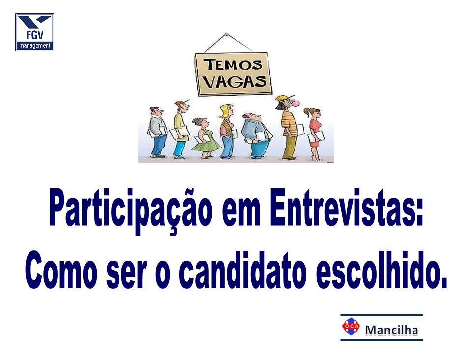 Participação em Entrevistas: Como ser o candidato escolhido.