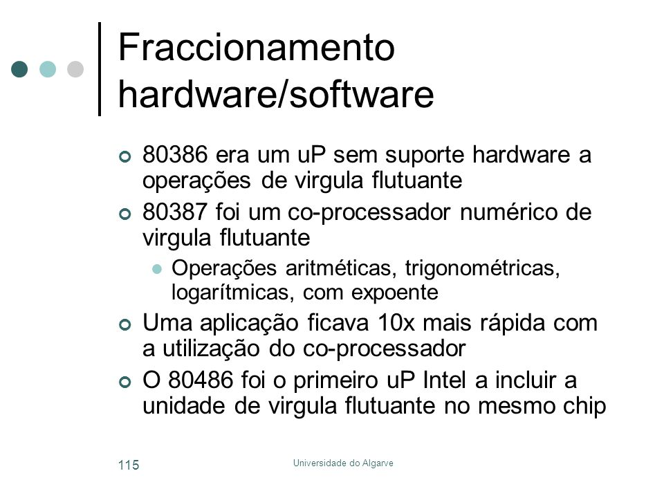Fraccionamento hardware/software