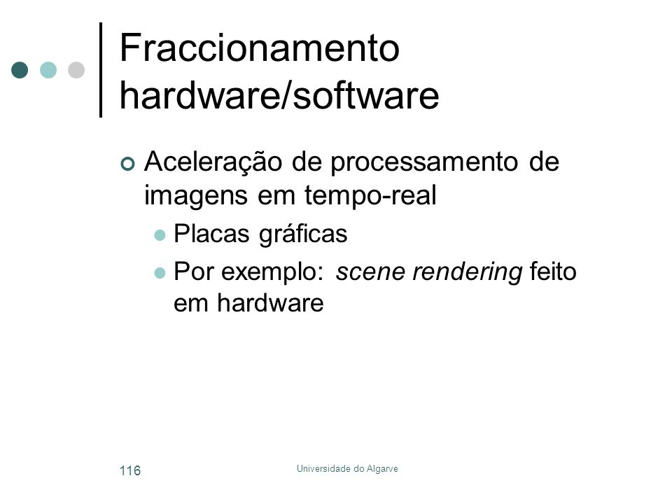 Fraccionamento hardware/software