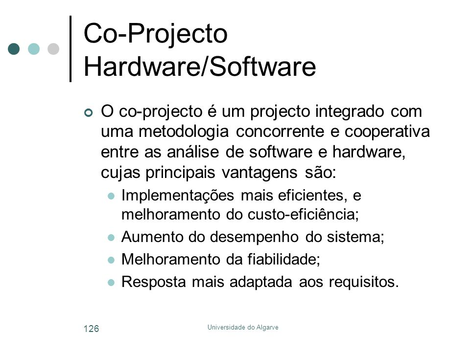 Co-Projecto Hardware/Software