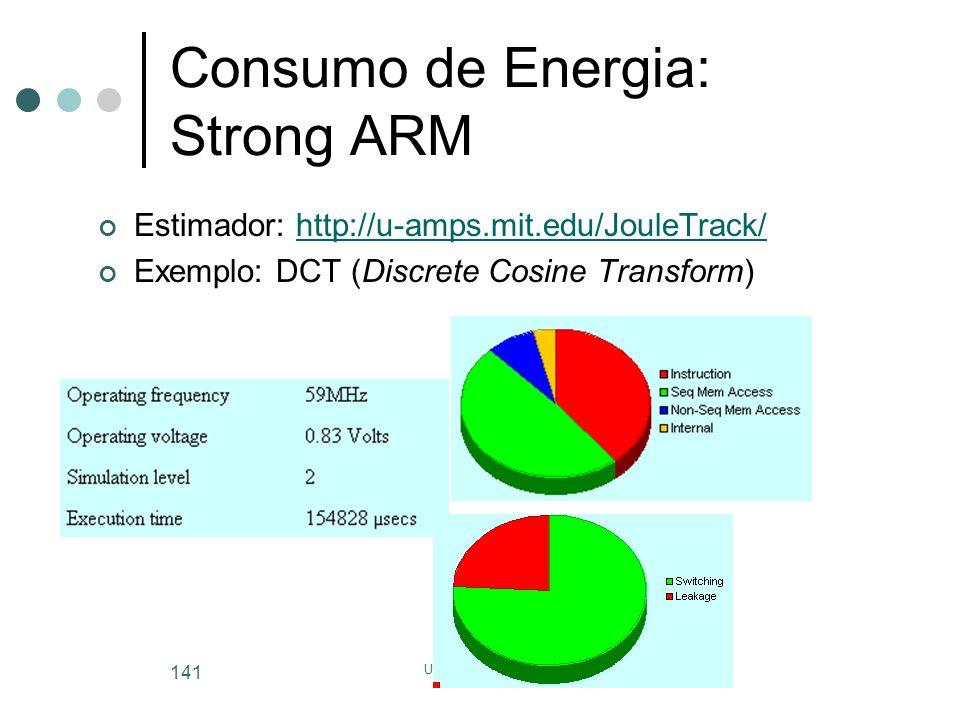 Consumo de Energia: Strong ARM