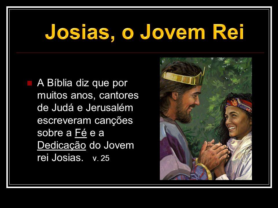 Josias, o Jovem Rei
