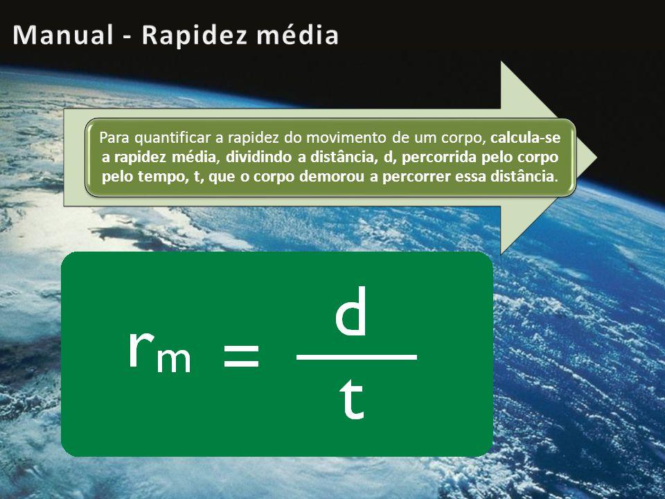 Manual - Rapidez média