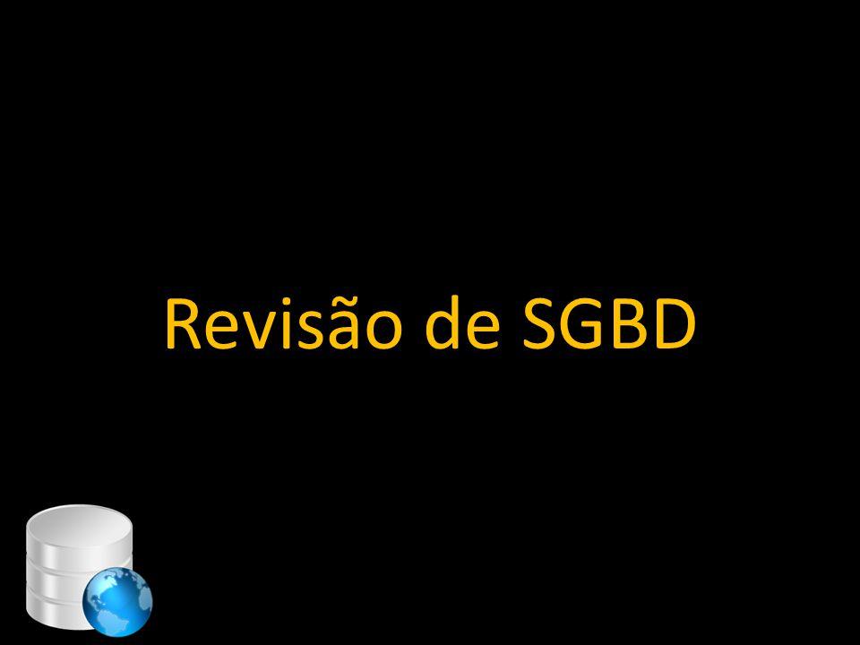 Revisão de SGBD