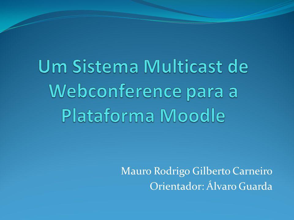 Um Sistema Multicast de Webconference para a Plataforma Moodle