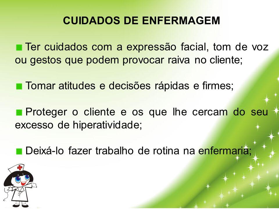 CUIDADOS DE ENFERMAGEM