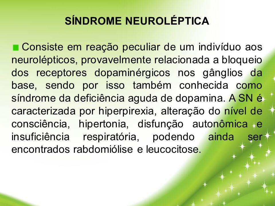 SÍNDROME NEUROLÉPTICA