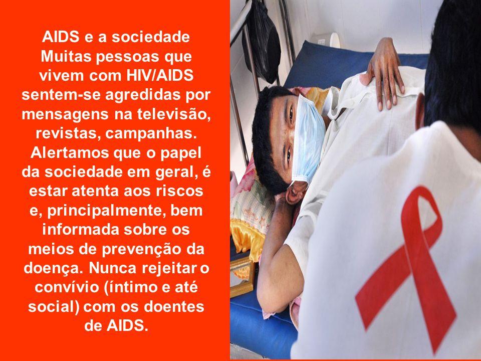 AIDS e a sociedade