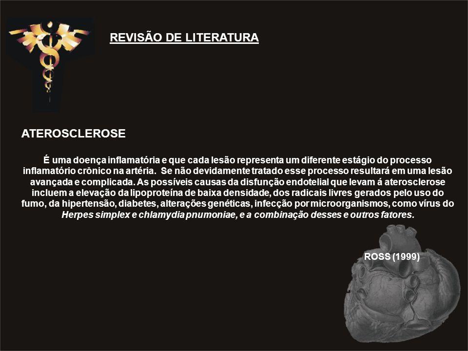 ROSS (1999) REVISÃO DE LITERATURA ATEROSCLEROSE