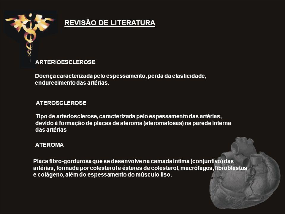 REVISÃO DE LITERATURA ARTERIOESCLEROSE