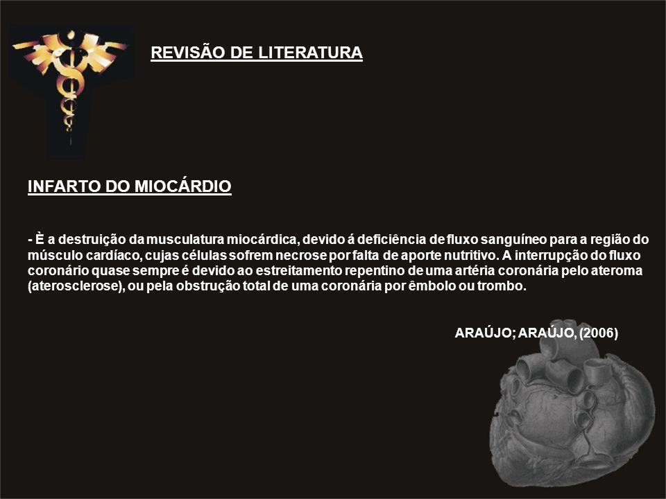 REVISÃO DE LITERATURA INFARTO DO MIOCÁRDIO