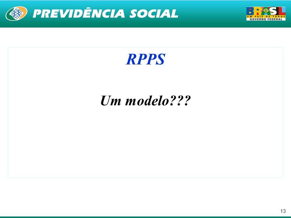 RPPS Um modelo