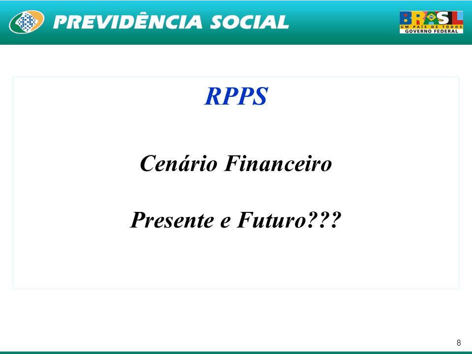 RPPS Cenário Financeiro Presente e Futuro
