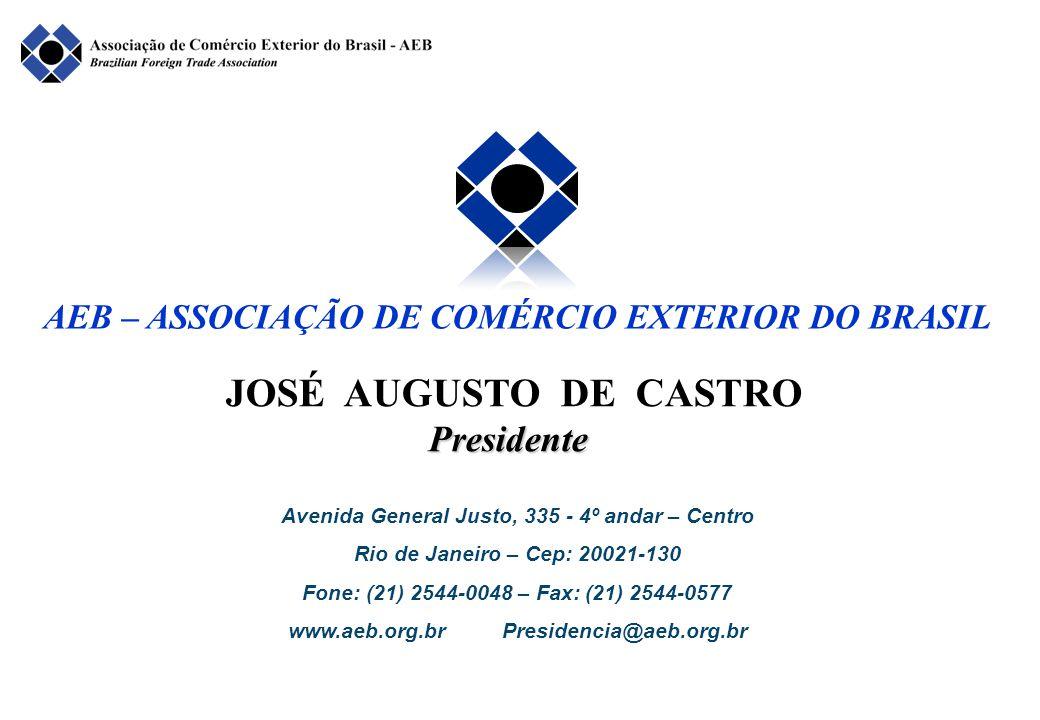 JOSÉ AUGUSTO DE CASTRO Presidente