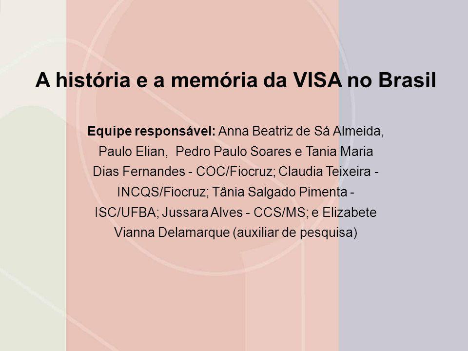 A história e a memória da VISA no Brasil
