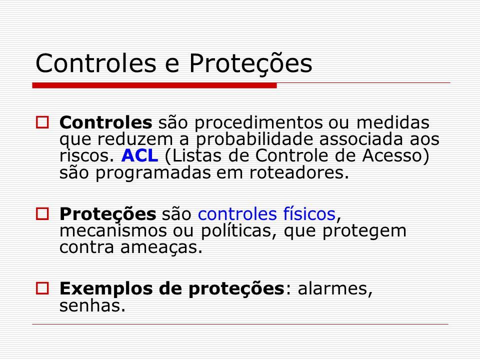 Controles e Proteções