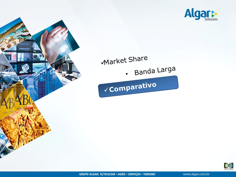 Market Share Banda Larga Comparativo