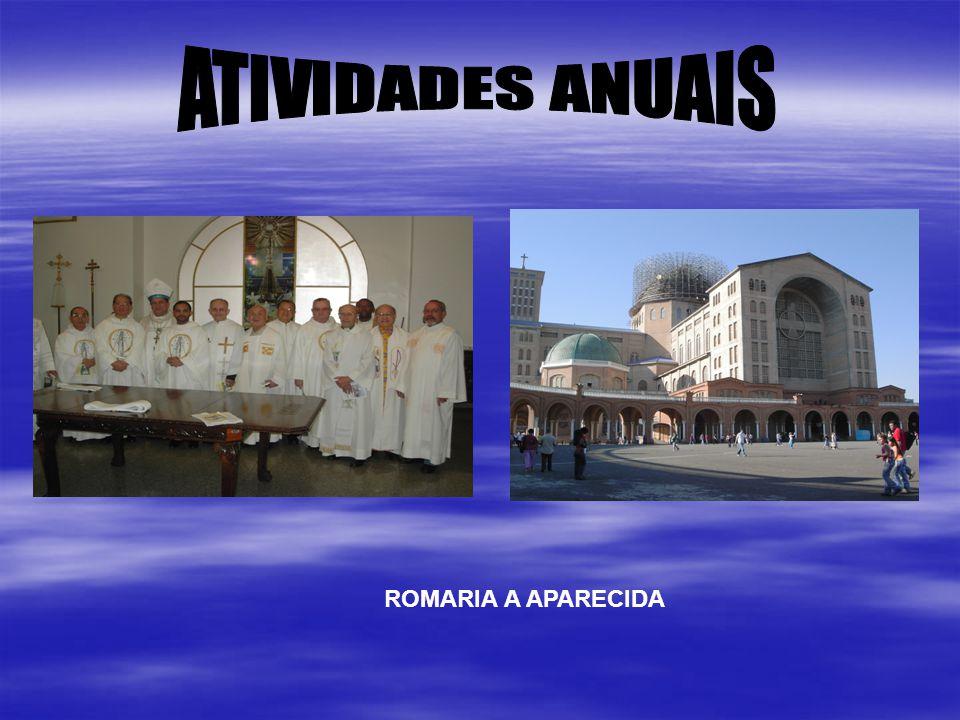 ATIVIDADES ANUAIS ROMARIA A APARECIDA