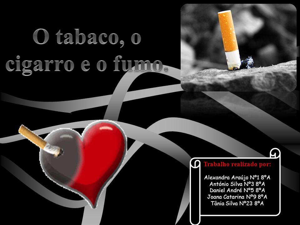 O tabaco, o cigarro e o fumo. Trabalho realizado por: