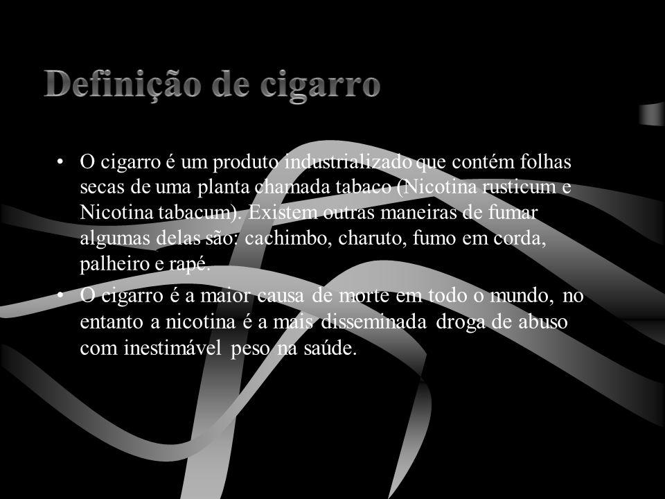 Definição de cigarro