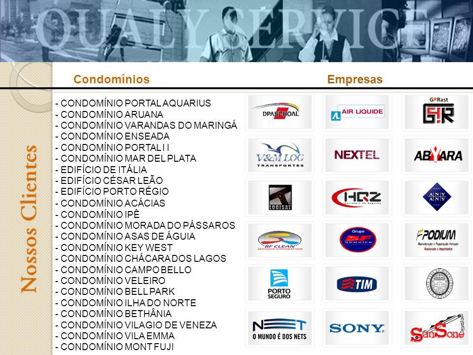 Condomínios Empresas.