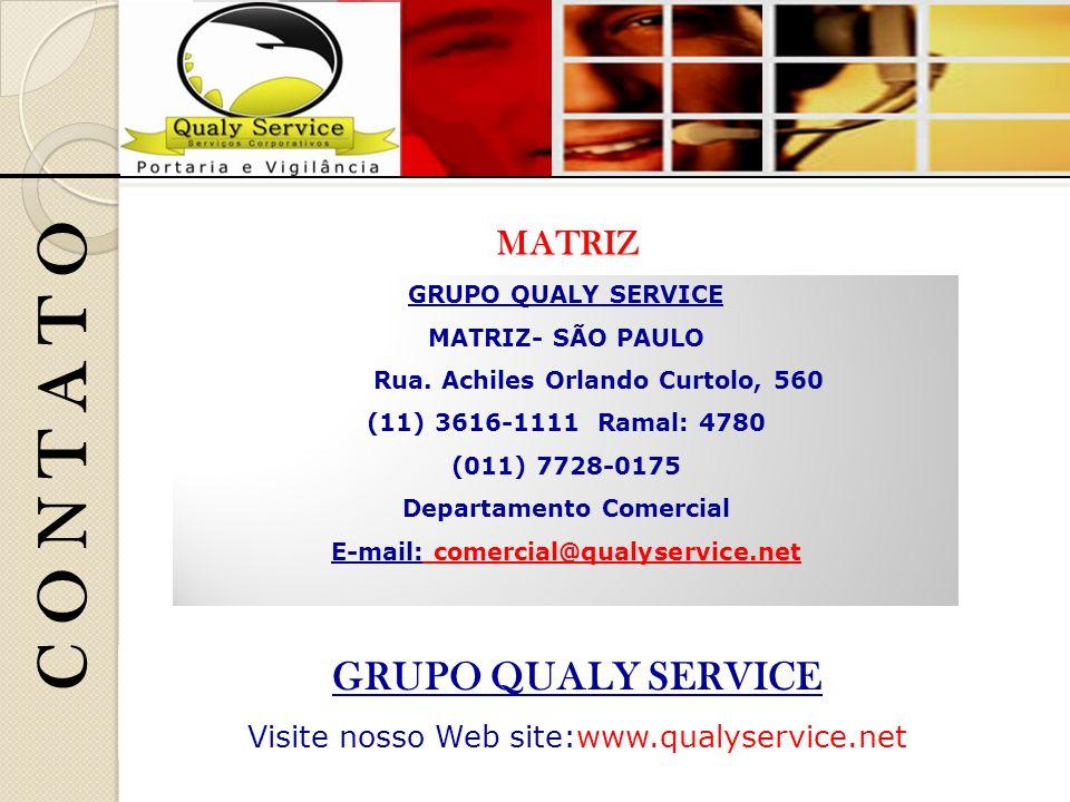 C O N T A T O GRUPO QUALY SERVICE MATRIZ