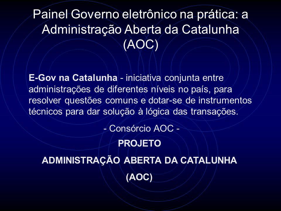 ADMINISTRAÇÃO ABERTA DA CATALUNHA