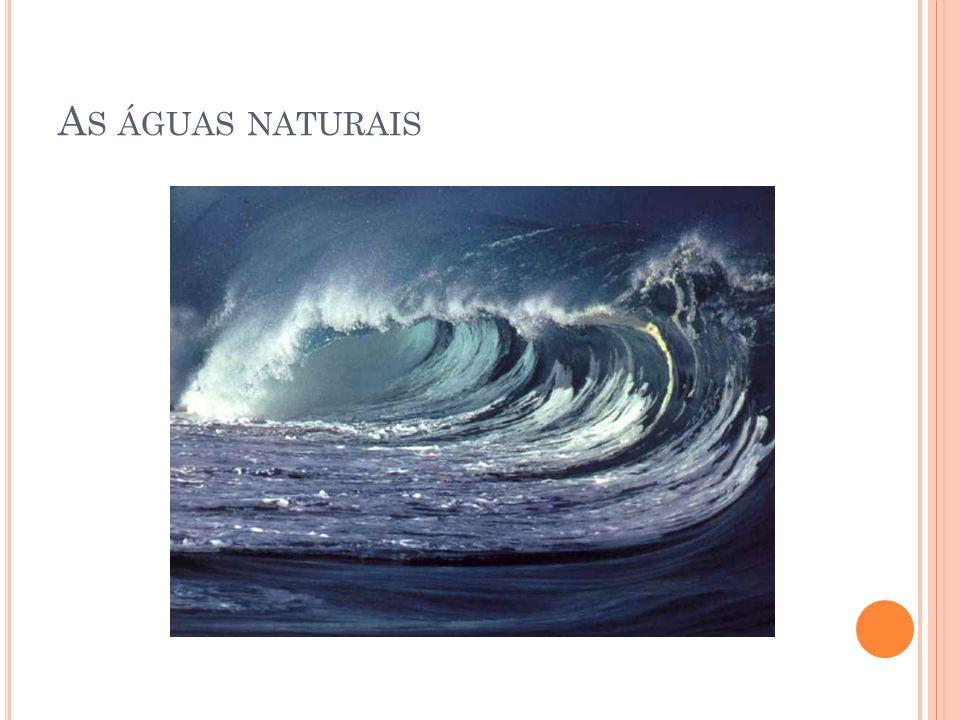 As águas naturais