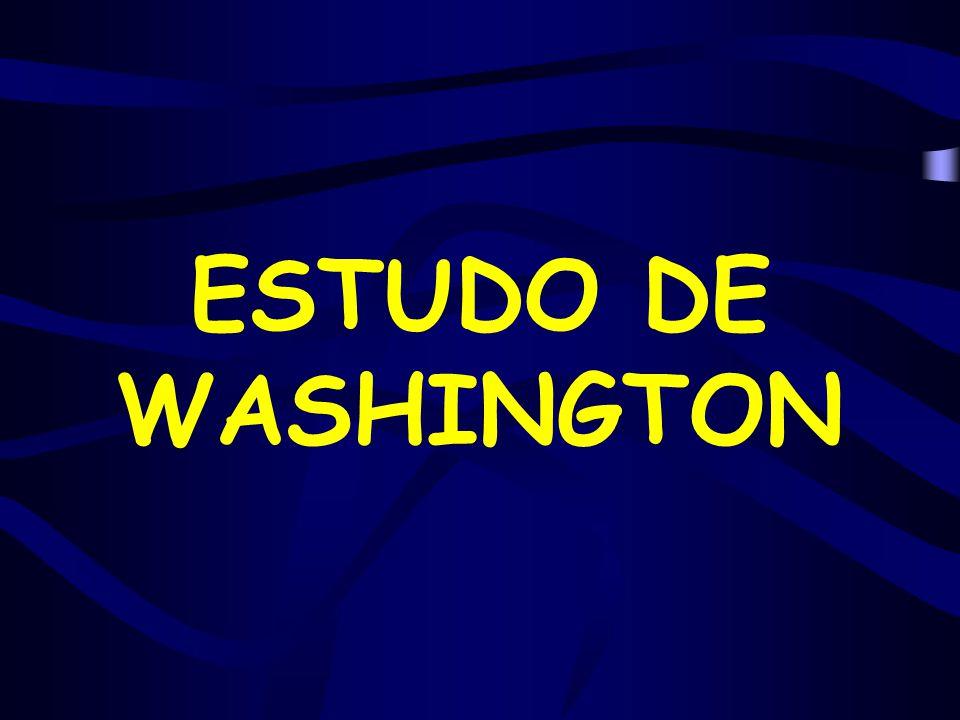 ESTUDO DE WASHINGTON