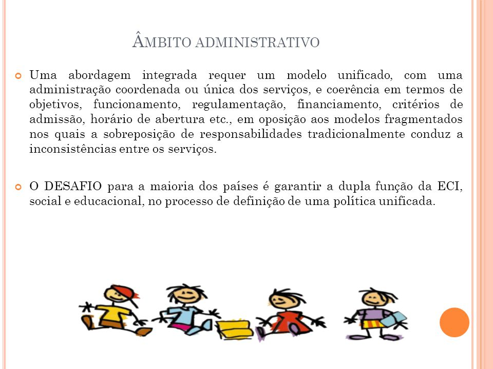 Âmbito administrativo