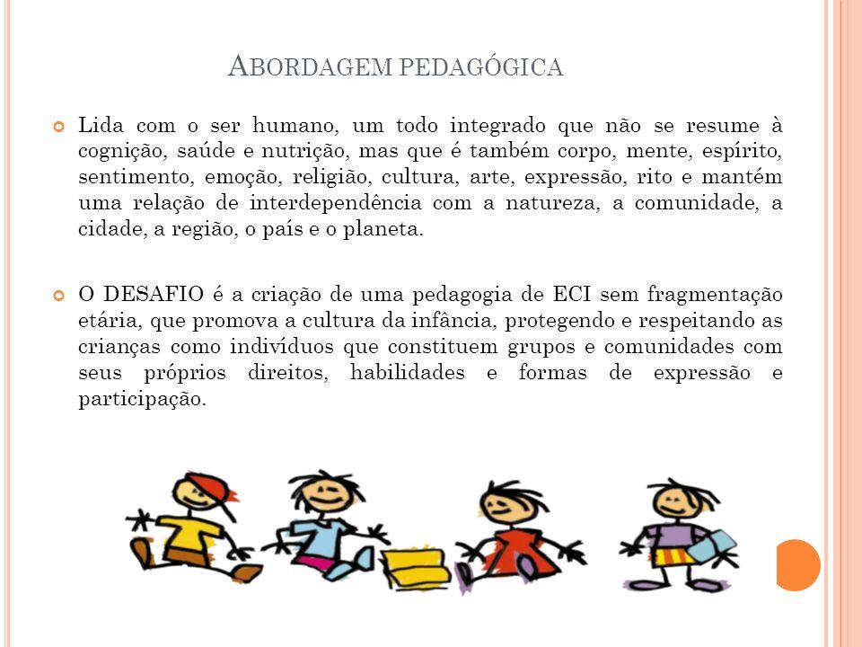 Abordagem pedagógica