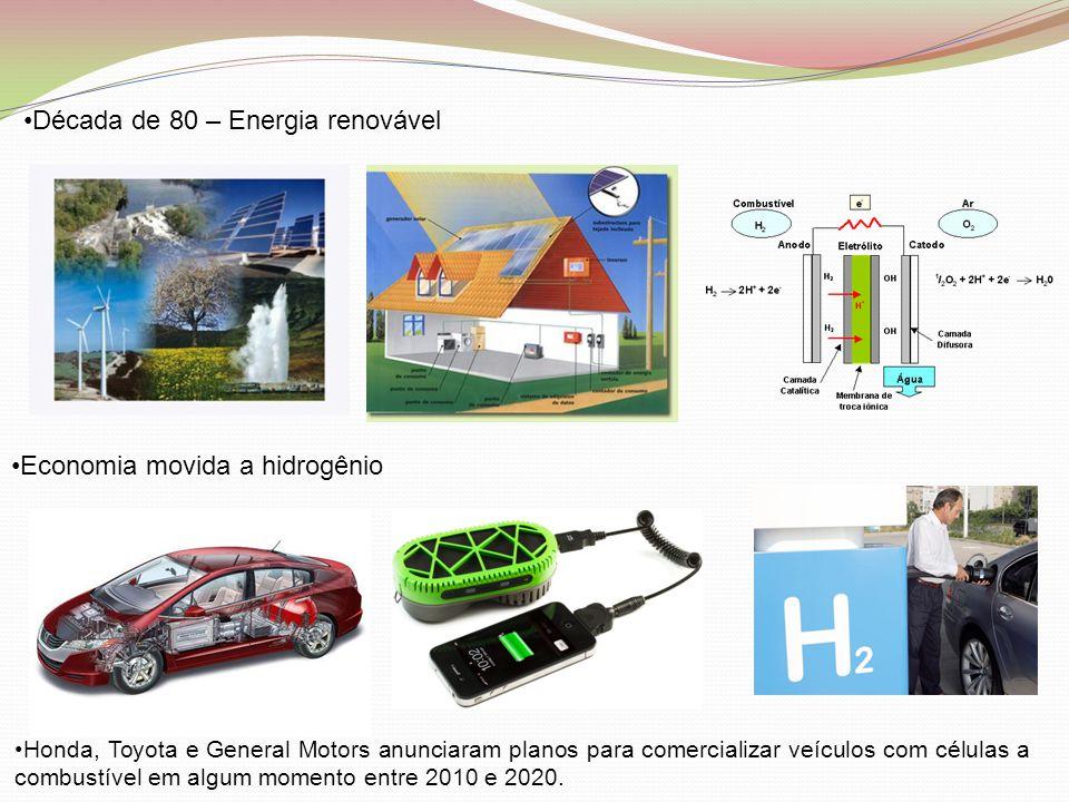 Década de 80 – Energia renovável