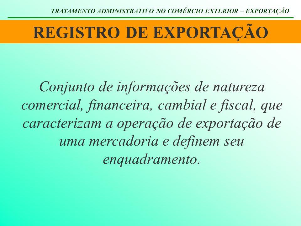 REGISTRO DE EXPORTAÇÃO