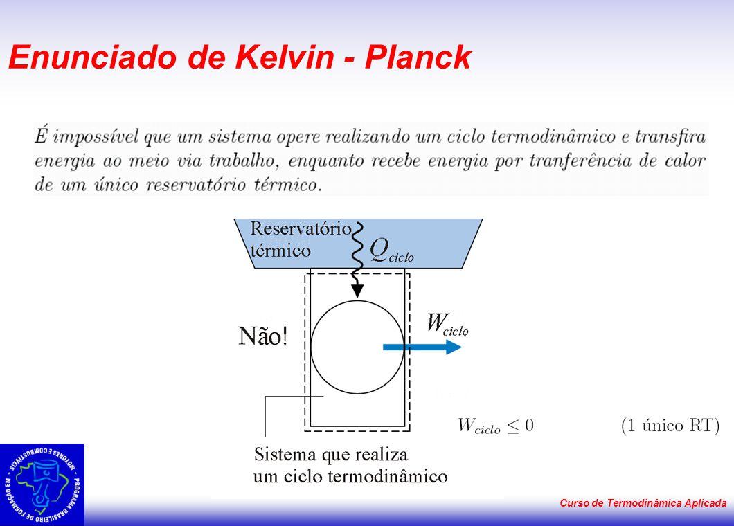 Enunciado de Kelvin - Planck