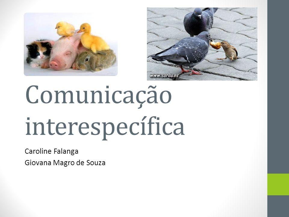 Comunicação interespecífica
