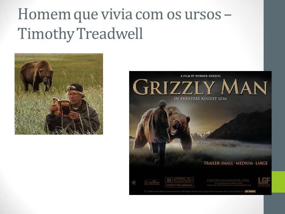 Homem que vivia com os ursos – Timothy Treadwell