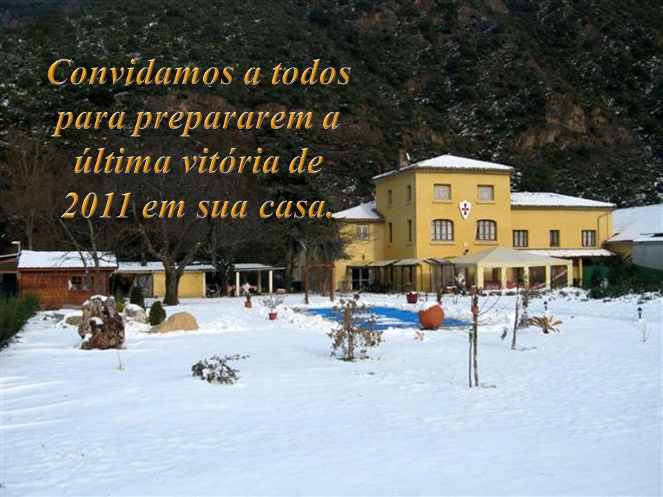 Convidamos a todos para prepararem a última vitória de 2011 em sua casa.