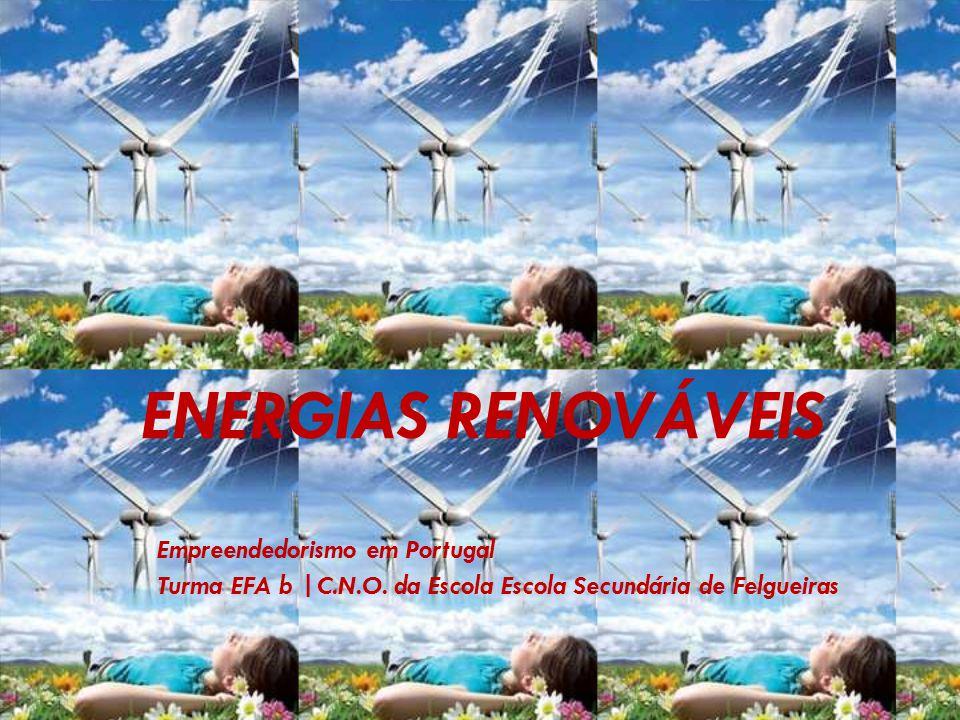 ENERGIAS RENOVÁVEIS Empreendedorismo em Portugal