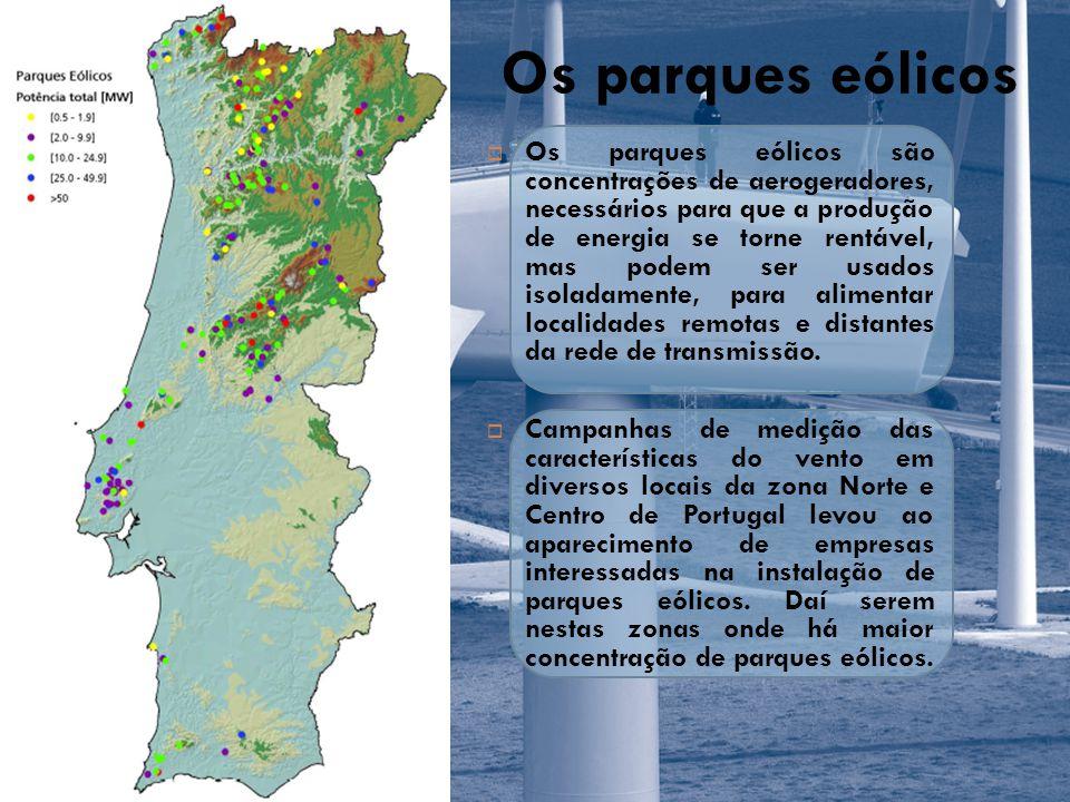 Os parques eólicos