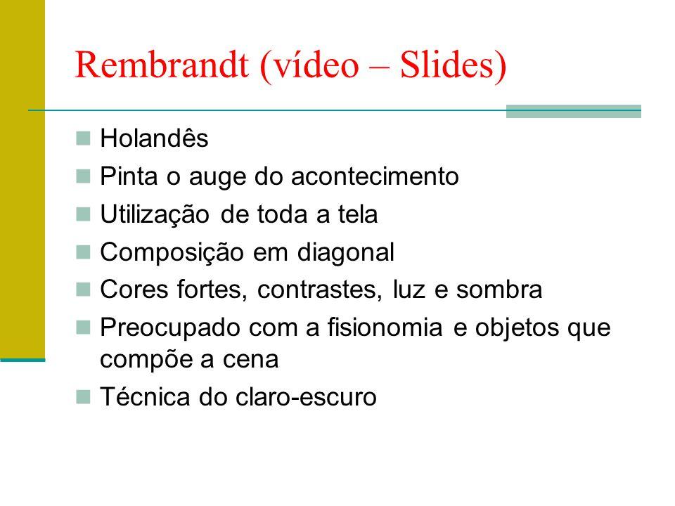 Rembrandt (vídeo – Slides)