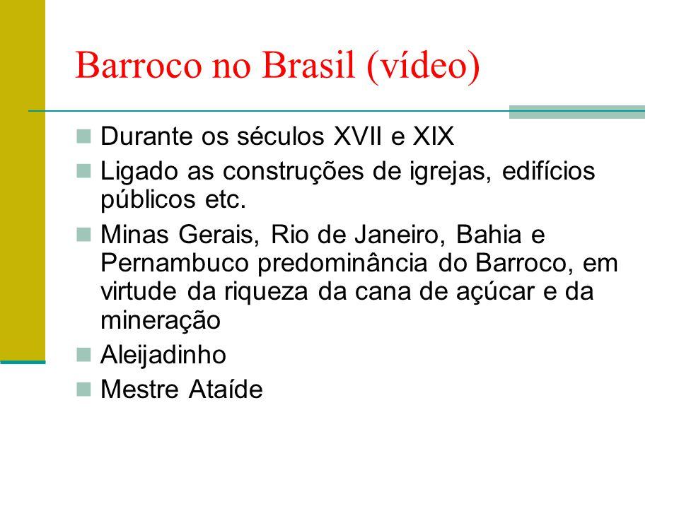 Barroco no Brasil (vídeo)