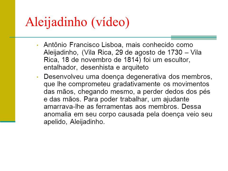 Aleijadinho (vídeo)