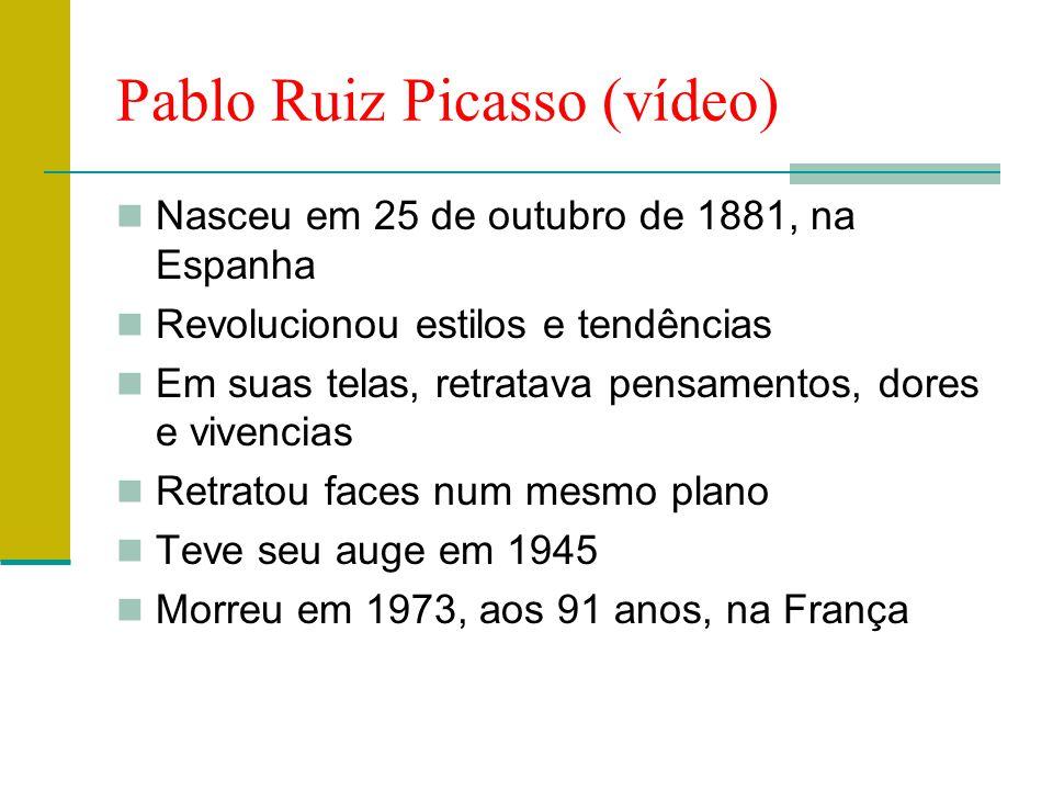 Pablo Ruiz Picasso (vídeo)