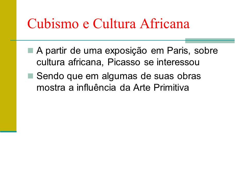 Cubismo e Cultura Africana
