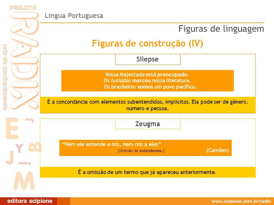 Figuras de construção (IV)